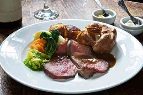 Stocc Lodge - Sunday Roast with All You Can Eat Vegetables for Two or Four - Save 46%
