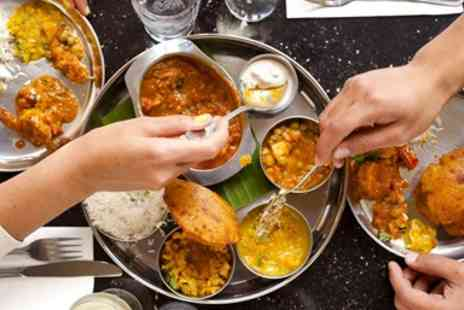 Rasa N16 - Vegetarian Indian meal & drinks for 2 - Save 42%