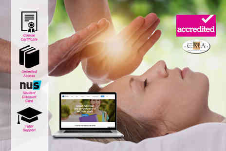 Harley Oxford - Online accredited reiki course Choose levels One And Two - Save 90%
