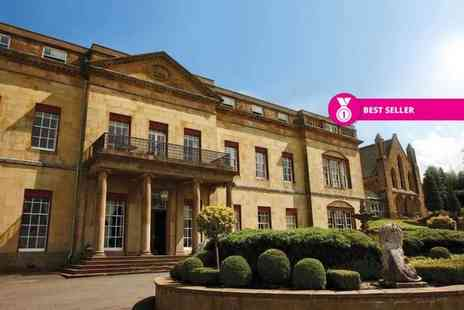 Shrigley Hall Hotel - One or two night stay for two people with breakfast, wine and dinner - Save 0%