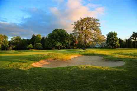 Macdonald Hotels - 18 holes of golf for two people with a bacon roll and a hot drink each - Save 74%