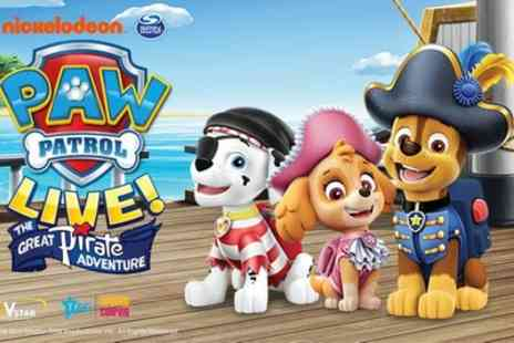 OIB Records - Ticket to Paw Patrol Live on 1 or 2 September in Bournemouth, 8 or 9 September in Brighton - Save 33%