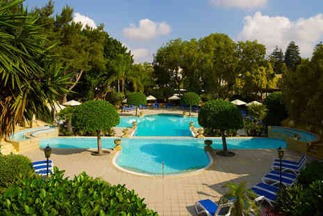 Corinthia Palace Hotel and Spa - Maltas Leading Spa Resort for two for two - Save 52%