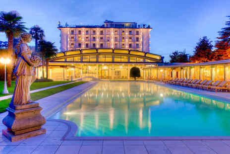 Hotel President Terme - Five Star Relaxation For Two in Italian Spa Town - Save 43%