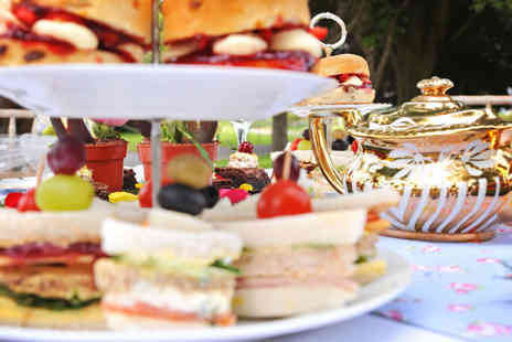 The Wroxeter Hotel - English Garden Afternoon Tea for two - Save 52%