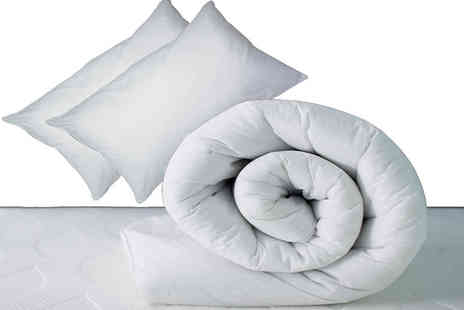 Home Tex - 10.5 tog cotton duvet and pillow set - Save 67%