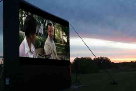 Backyard Films - Outdoor Cinema Screenings, IT on 27 July and Forrest Gump on 28 July - Save 22%