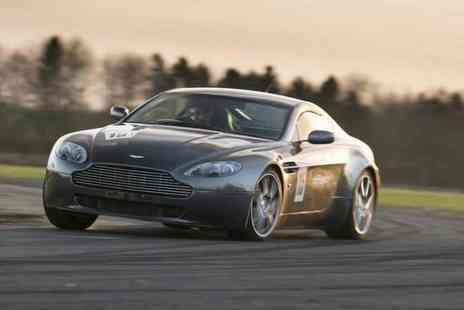 Drift Limits - 14 lap Aston Martin V8 Vantage supercar experience - Save 57%