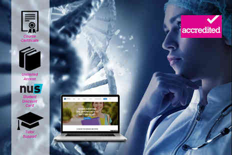 Harley Oxford - Online accredited forensic science level 3 diploma course - Save 94%