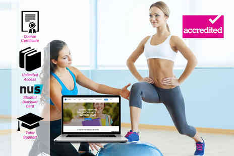 Harley Oxford - Online accredited personal trainer level 3 diploma online course - Save 94%
