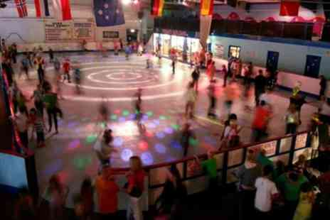 Simply Skate Arena - Indoor Skating with Skate Hire and Drink for Up to Four - Save 55%
