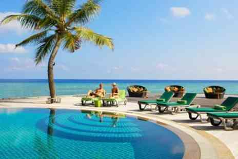 Away Holidays - Deluxe all inclusive Maldives week with flights, 1 child stays free - Save 0%