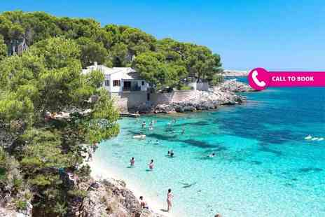 Super Escapes Travel - Three, five or seven night Mallorca break with return flights - Save 55%