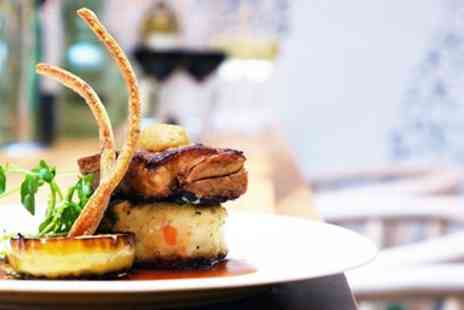 The White Horse - Three course dinner for 2 - Save 49%