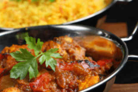 Sitar Indian Restaurant - Indian Meal for Two with Wine - Save 64%