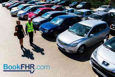 BookFHR - Airport Parking Services - Save 0%