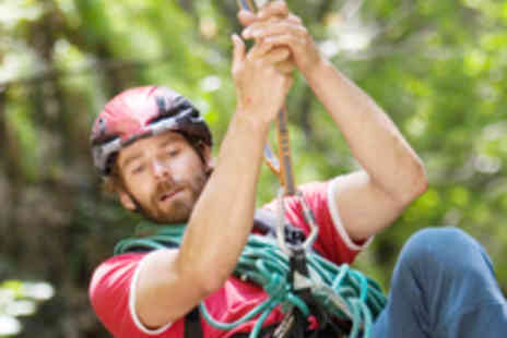 Carrowmena Activity Centre - Zip Line and Climbing Wall Experience - Save 53%