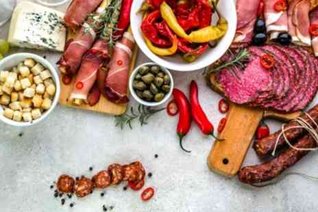 The O Bar - One or Two Sharing Meat or Cheese Platters with Cocktail for Two or Four - Save 61%