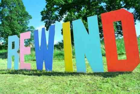 Rewind Festival - Day or Weekend Tickets to Rewind Festival North on 3 to 5 August - Save 0%