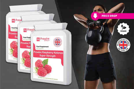 Prowise Healthcare - Months supply of super strength raspberry ketones - Save 76%