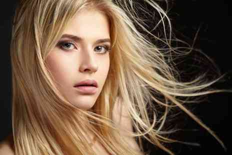 Salon Hair & Beauty - Half head of highlights with a wash, cut and blow dry - Save 65%