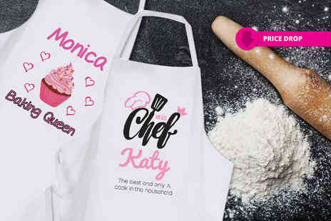 Deco Matters - Personalised novelty apron choose from eight designs - Save 60%