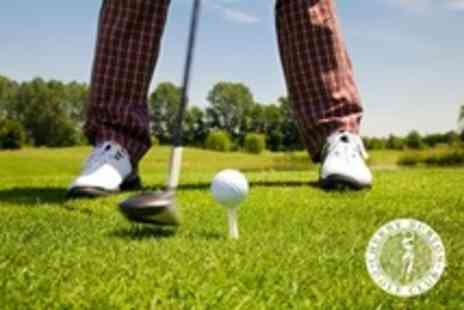 Cherry Burton Golf Club - Golf 18 Holes With Pre-Game Snack and Post-Game Meal For Two - Save 61%