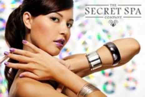 The Secret Spa - Gel Polish Manicure With Pedicure - Save 69%