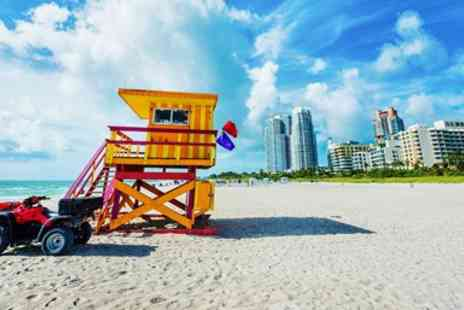Away Holidays - Deluxe 5 night Miami escape with flights & free night - Save 0%