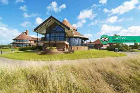 East Sussex National Hotel - Romantic overnight stay for two with two course dinner, breakfast, a Rhassoul mud treatment and leisure club access - Save 48%