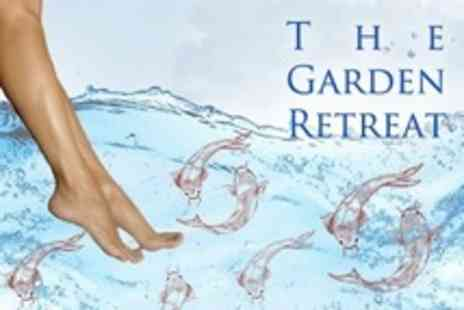 The Garden Retreat - Garra Rufa Fish Foot Spa For One - Save 60%