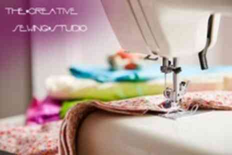 The Creative Sewing Studio - Three Hour Cushion-Making  or Sewing Machine Class - Save 69%