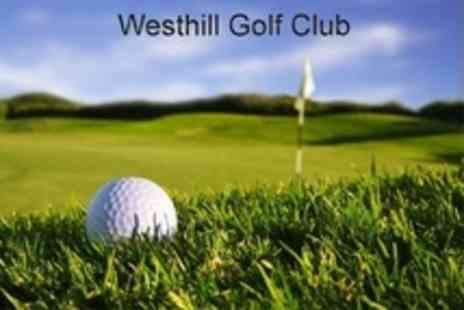Westhill Golf Club - 18 Hole Full Round of Golf For Two - Save 0%