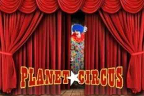 Planet Circus - Planet Circus Entry For Family of entry for two adults and two children - Save 60%