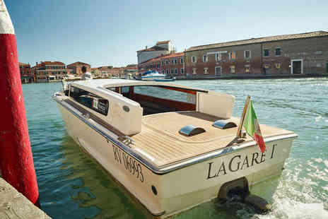 LaGare Hotel - Four Star Sophisticated Hotel Stay For Two Overlooking Muranos Grand Canal - Save 75%