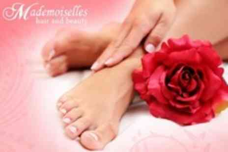 Mademoiselles Hair and Beauty - Express Pedicure and Manicure - Save 63%