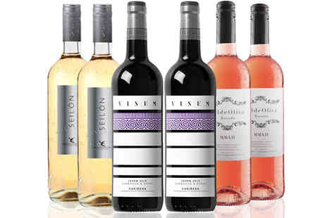 IBERVILLA FINE FOODS - Case of 6 or 12 Wines Rose, White & Red - Save 44%