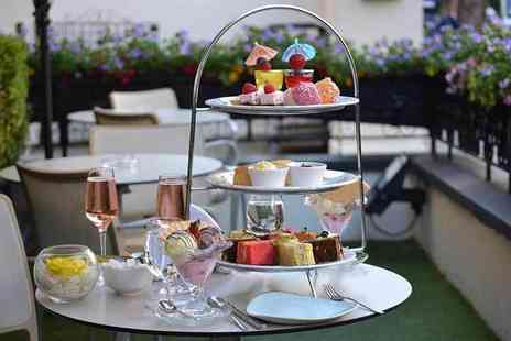 Park Grand Lancaster Gate - Ice cream afternoon tea for two people with a bottle of bubbly to share - Save 59%