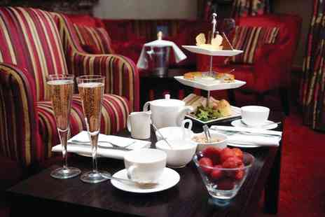 Cathedral Quarter Hotel - Prosecco afternoon tea for two people with leisure access and a choice of 30 minute treatment each - Save 57%
