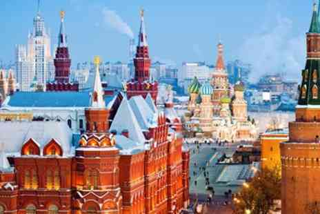 On the Go Tours - Christmas or New Year escorted group tour to Russia - Save 0%