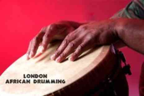 London African Drumming - Two and a half hour beginners African drum session - Save 55%