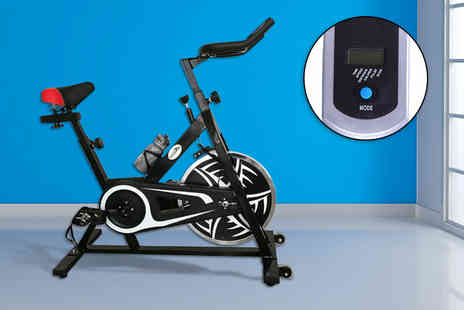 Games & Fitness - Velocity Pro spin exercise bike - Save 57%