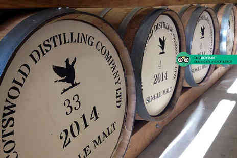 Cotswolds Distillery - Gin and whisky distillery tour for two people including a tasting session - Save 50%