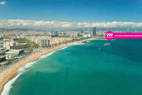 iFly Holidays - Two, three or four night Barcelona break with flights and transfers - Save 48%