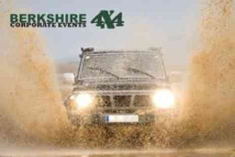 Berkshire 4x4 - Half day off road driving experience with - Save 60%