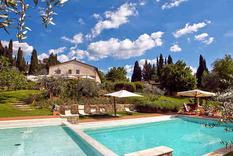 Fonte De Medici - Four Star Romantic Escape For Two to a Traditional Tuscan Hamlet - Save 75%