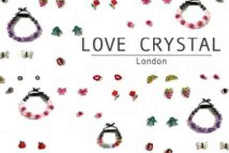 Love Crystal - Love Crystal Jewellery Voucher - Save 67%