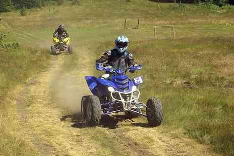 HA Quads - Five mile quad biking experience for one or two - Save 20%