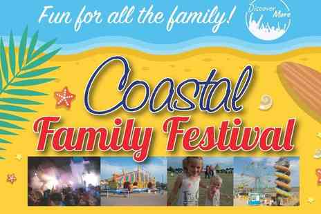 Coastal Family Festival - Child or adult day or weekend ticket to Coastal Family Festival, Cleethorpes from 25th or 26th August - Save 50%