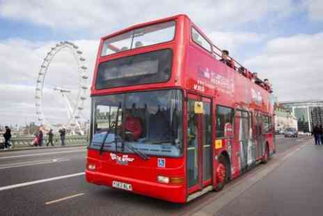 London City Tour - London City Tour Hop On Hop Off with Free Walking Tour and River Cruise - Save 0%